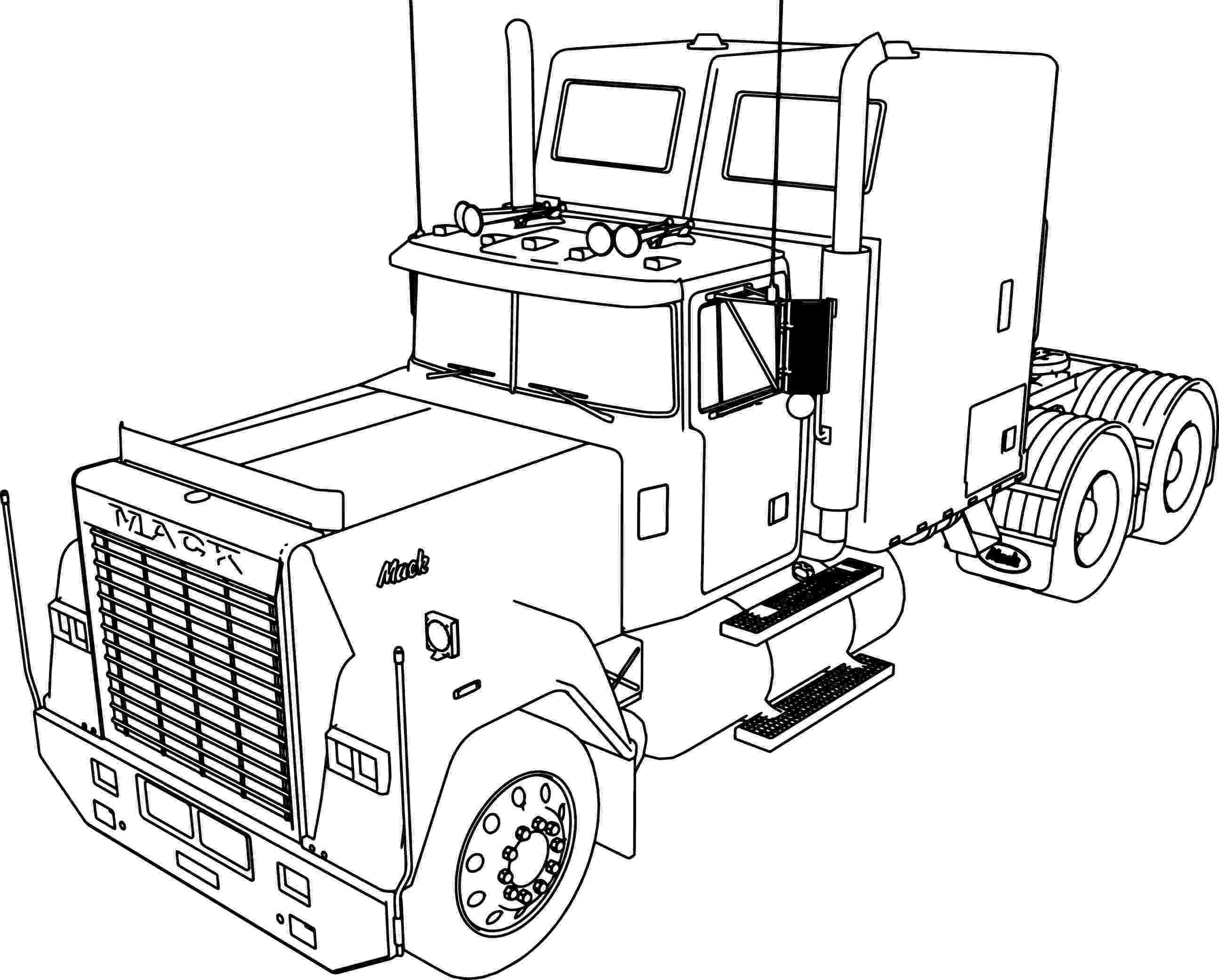 mack truck coloring pages truck mack coloring page supercoloringcom truck coloring mack pages