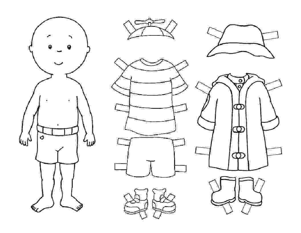 male paper doll cutouts free printable paper doll cutout templates for kids and male cutouts paper doll