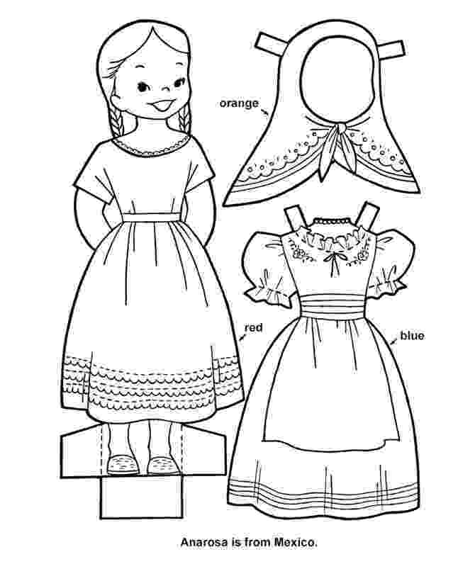 male paper doll cutouts paper doll chain template craft pinteres doll male cutouts paper