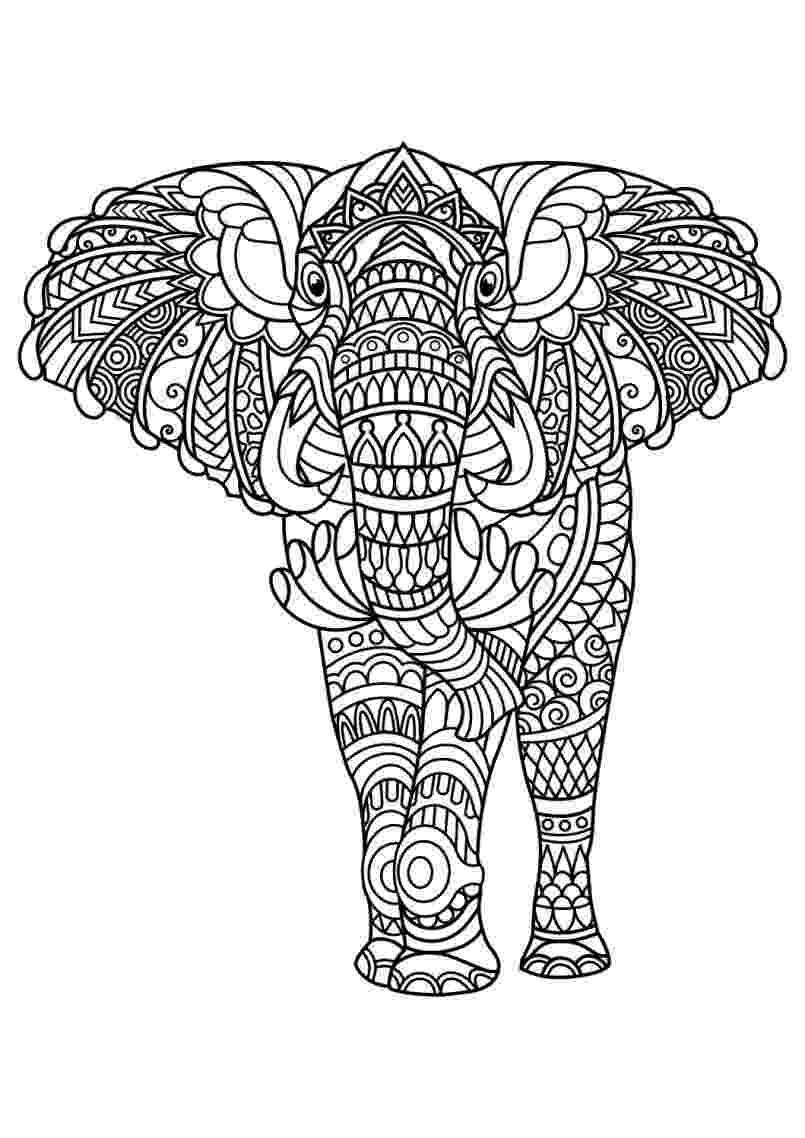 mandala animals animal mandala coloring pages for adult free printable animals mandala