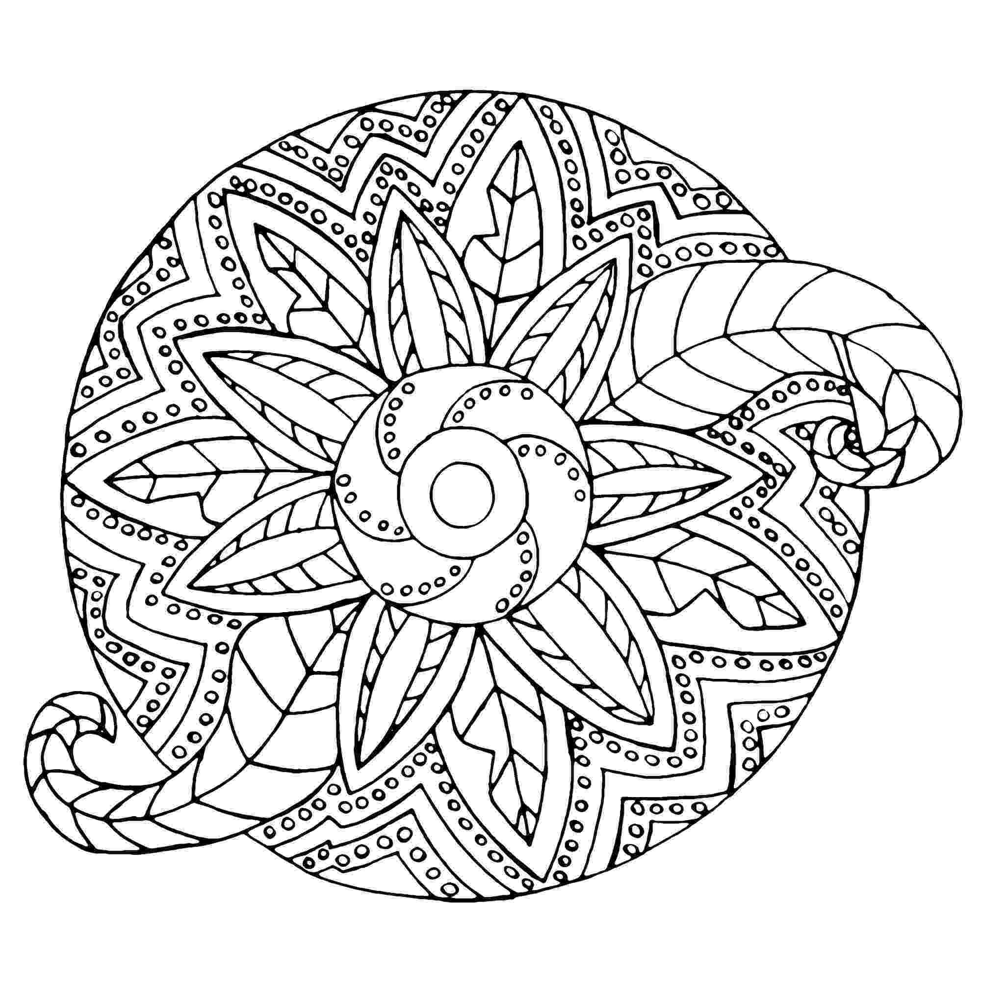 mandala color animal mandala coloring pages to download and print for free color mandala
