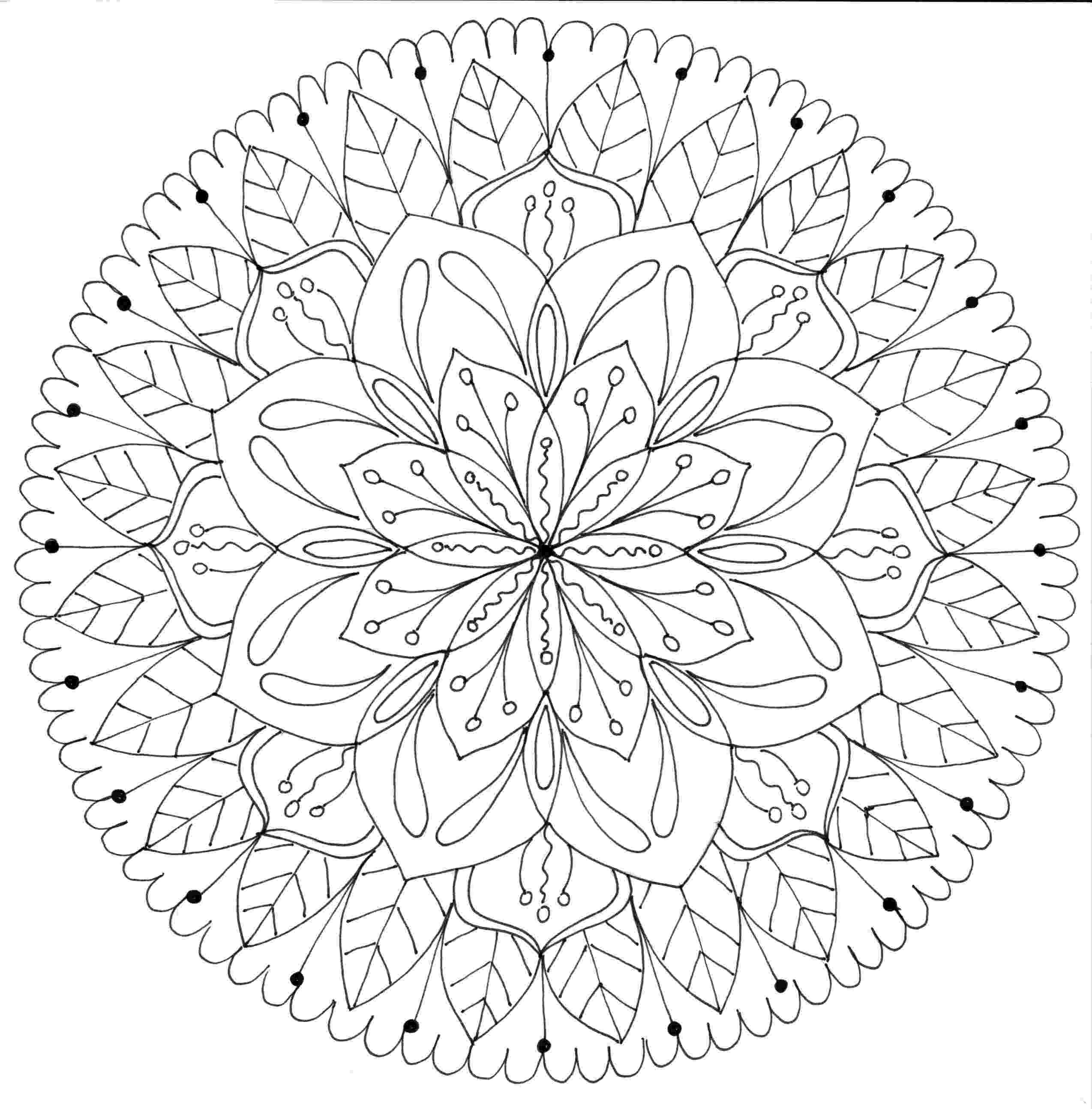 mandala color coloring to calm volume one mandalas color mandala