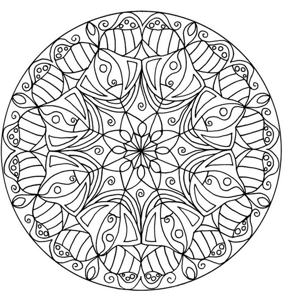 mandala color flower mandala coloring page free printable coloring pages color mandala