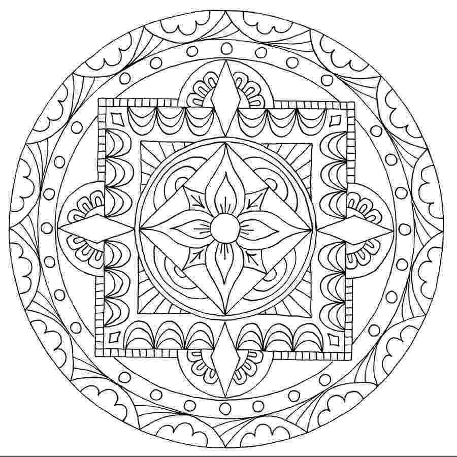 mandala color free printable mandala coloring pages for adults best mandala color