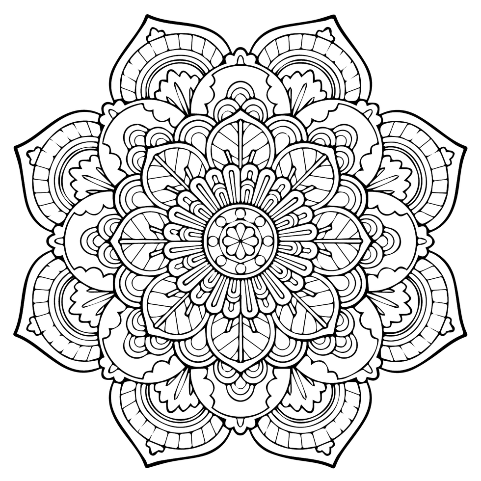 mandala coloring book online mandala coloring pages for kids to download and print for free coloring online mandala book