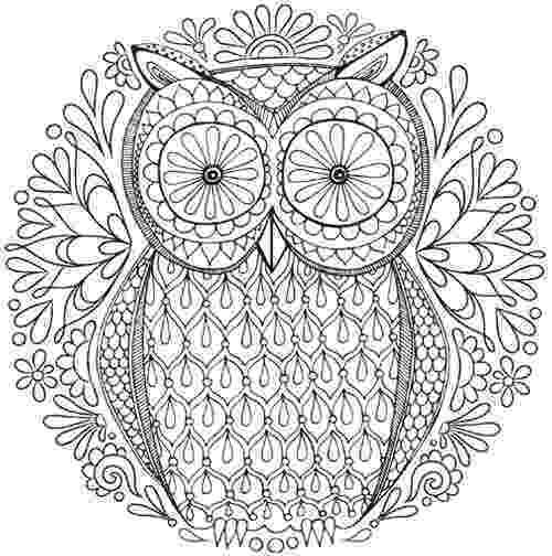 mandala free free owl nature mandala coloring page inkleur abstract free mandala