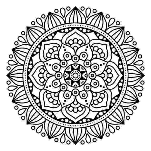 mandala free free printable mandala coloring pages for adults free mandala