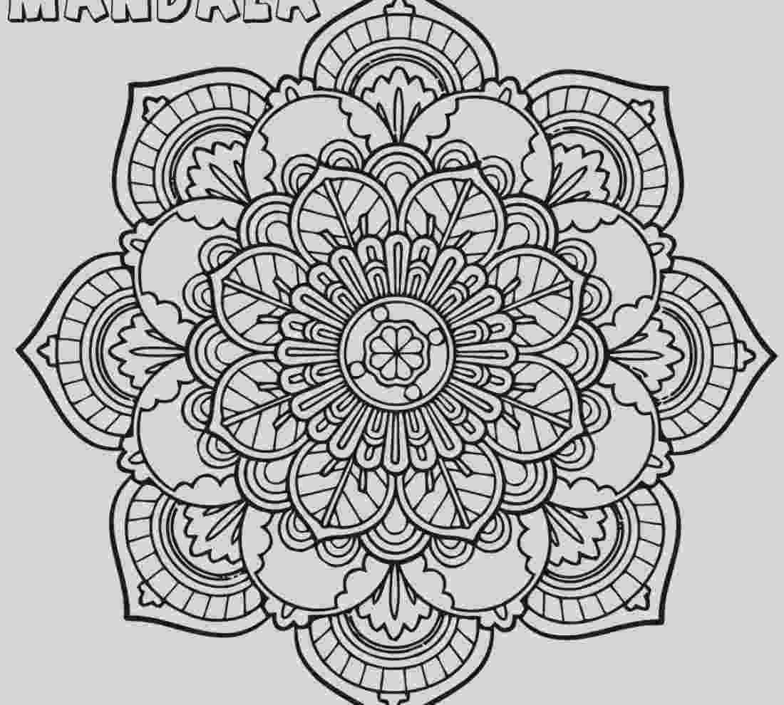 mandala print 29 intricate mandala coloring pages collection coloring mandala print