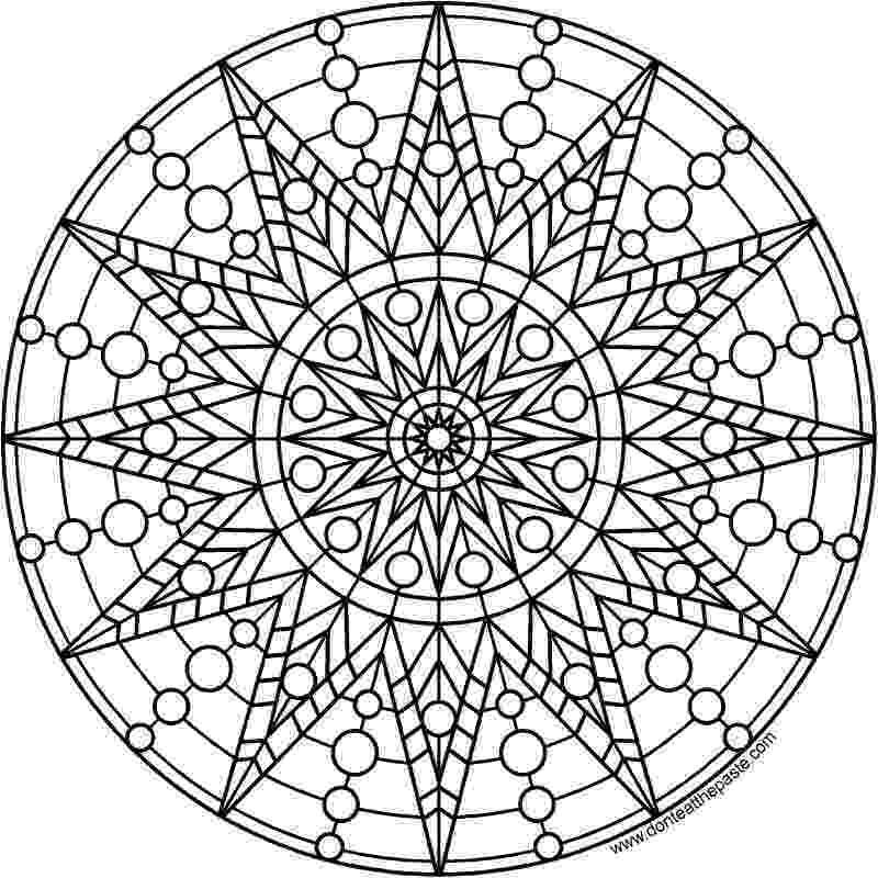 mandala print don39t eat the paste sun mandala to print and color mandala print
