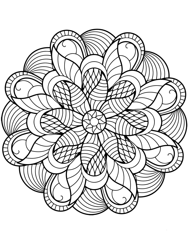 mandala print flower mandala coloring pages best coloring pages for kids print mandala