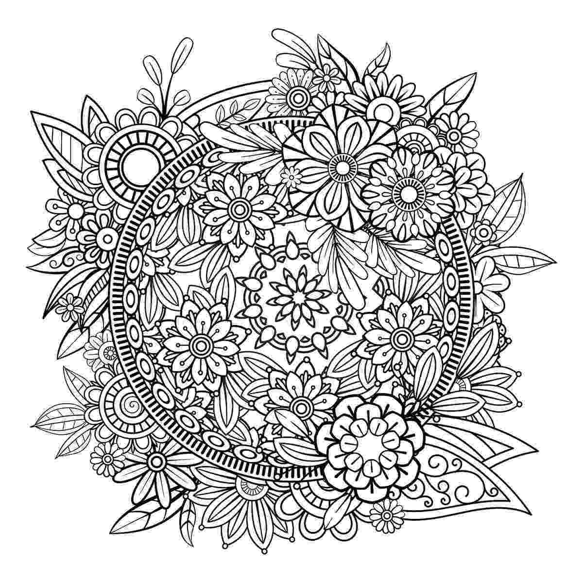 mandala print mandala coloring pages printable coloring pages of print mandala