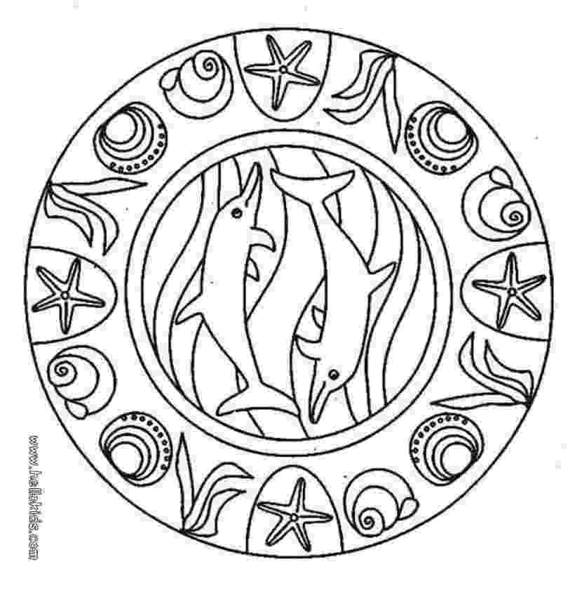 mandala to color coloring sheet for kids coloring pages blog color mandala to