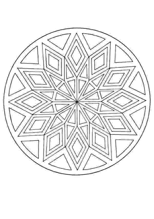 mandala to color free printable mandalas for kids best coloring pages for color to mandala