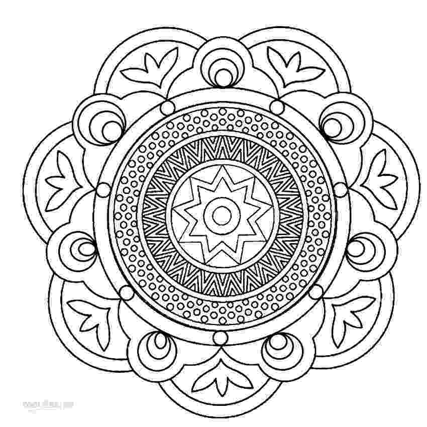 mandala to color mandala c coloring pages hellokidscom color to mandala