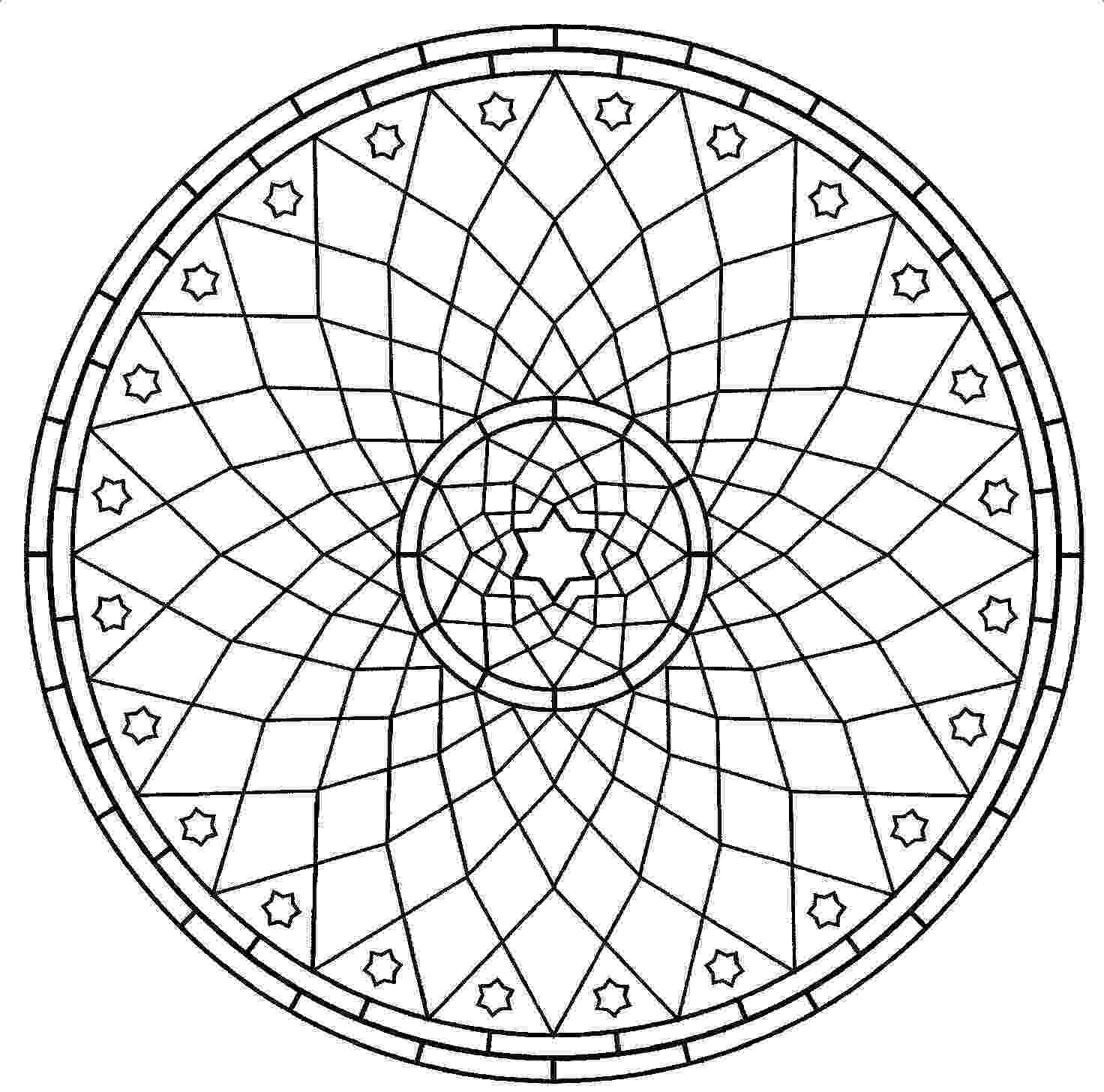mandala to color mandala coloring pages for kids parenting times mandala to color