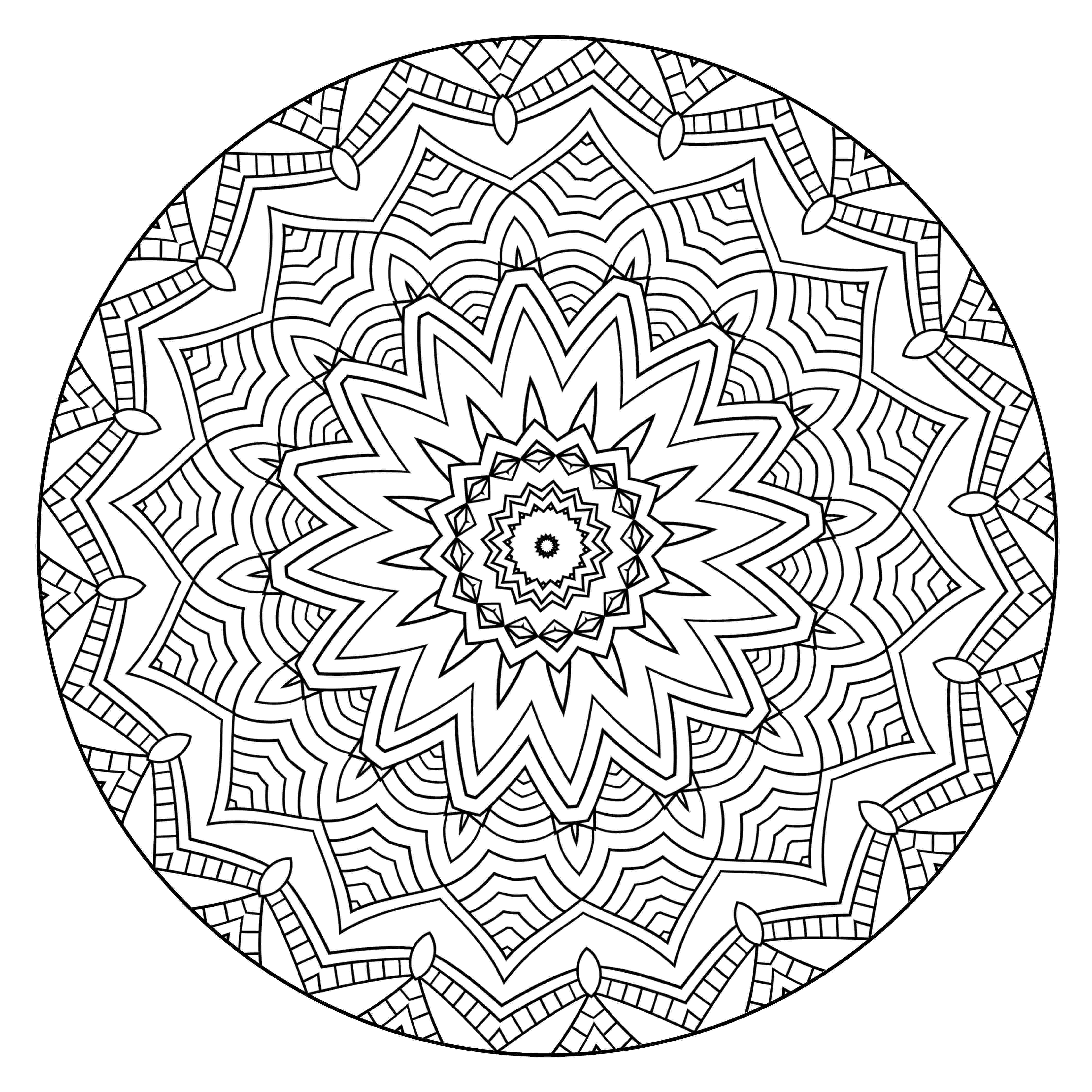 mandala to color mandala coloring pages for kids to download and print for free color mandala to