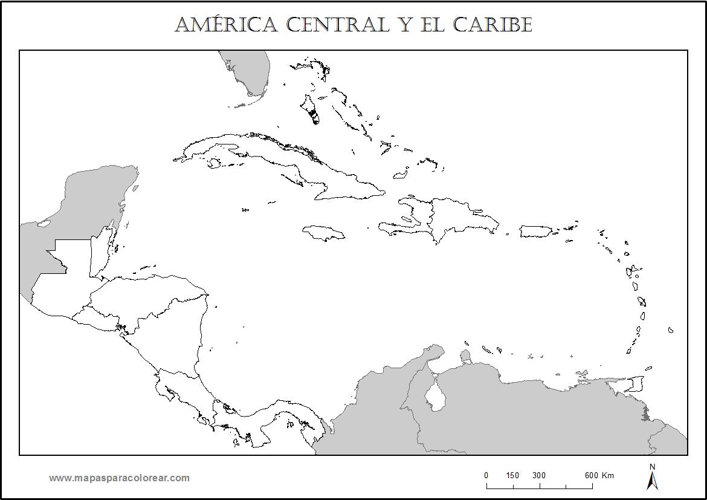 mapa de centroamerica blank map america do sul de centroamerica mapa