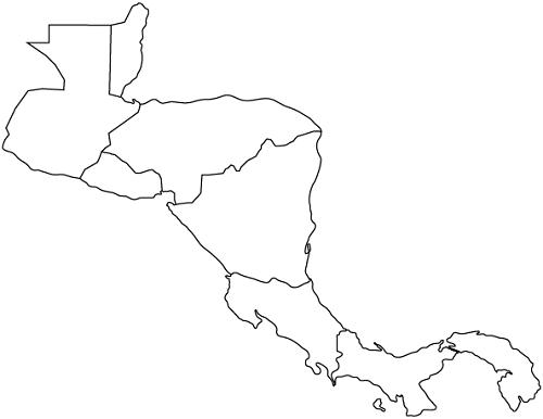 mapa de centroamerica blank map of latin american countries and travel mapa de centroamerica