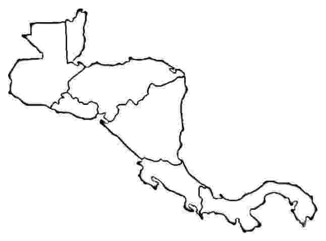 mapa de centroamerica mapa de centroamérica para colorear sin nombres latin mapa centroamerica de