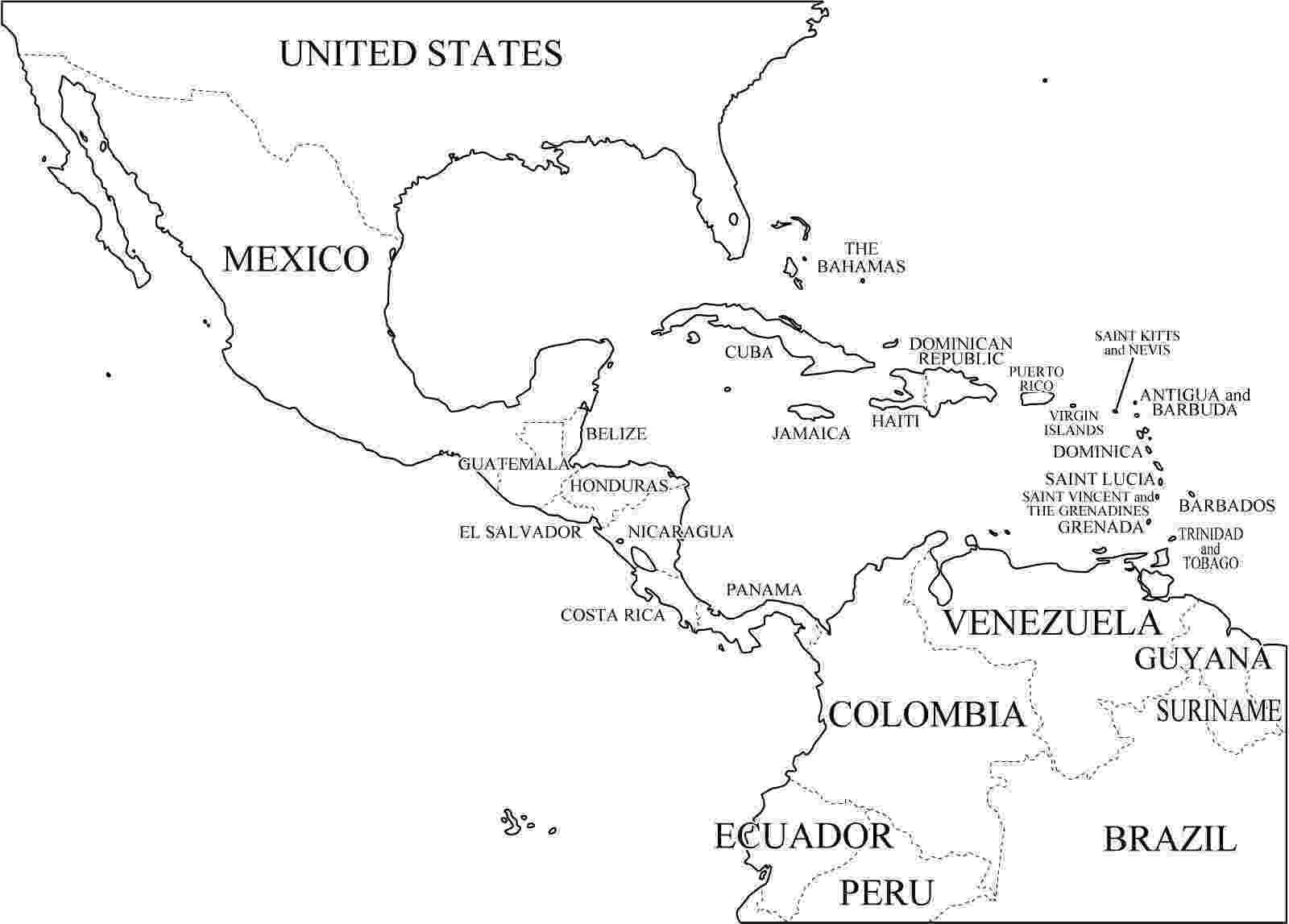 mapa de centroamerica mapa de costa rica para colorear mapa de centroamerica