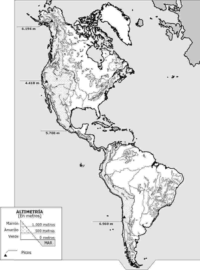 mapa de centroamerica mapa fisico de america sin nombres de mapa centroamerica
