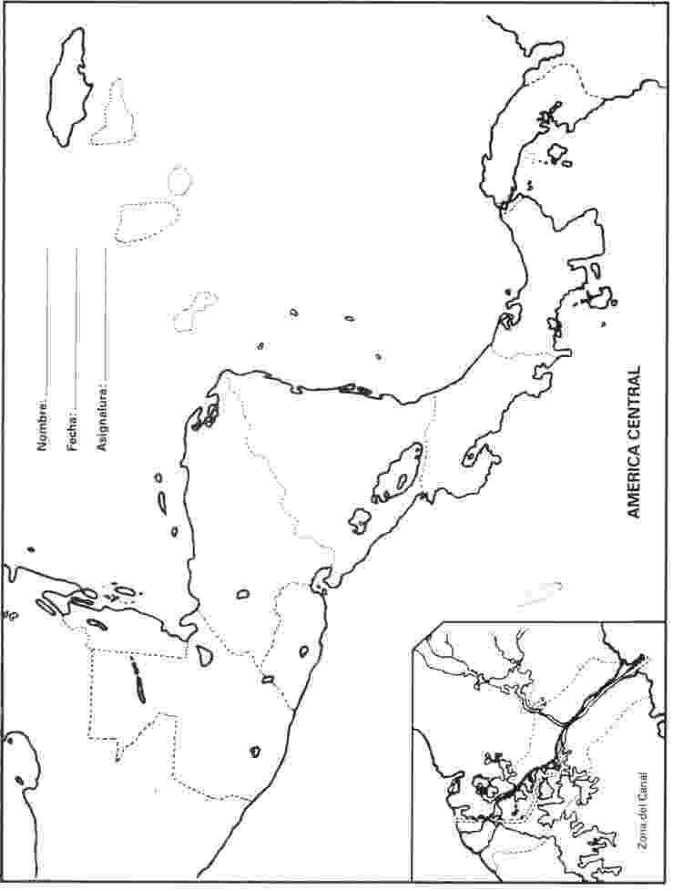 mapa de centroamerica mapa mudo de centroamerica de mapa centroamerica