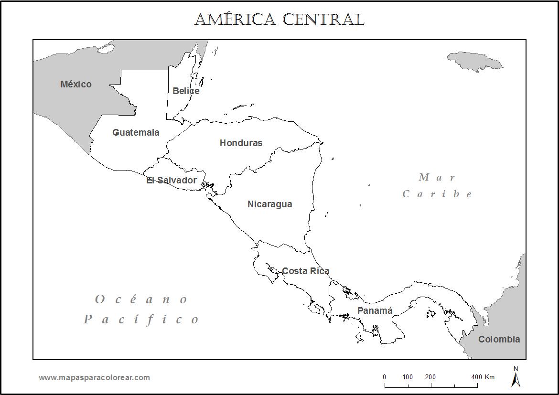 mapa de centroamerica mapa politico de centro america centroamerica mapa de