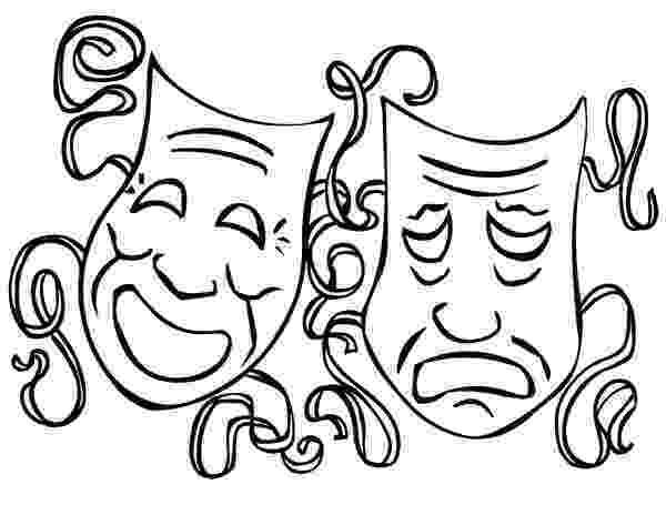 mardi gras mask coloring sheet the twin comedy and tragedy mask on mardi gras coloring sheet mask gras coloring mardi