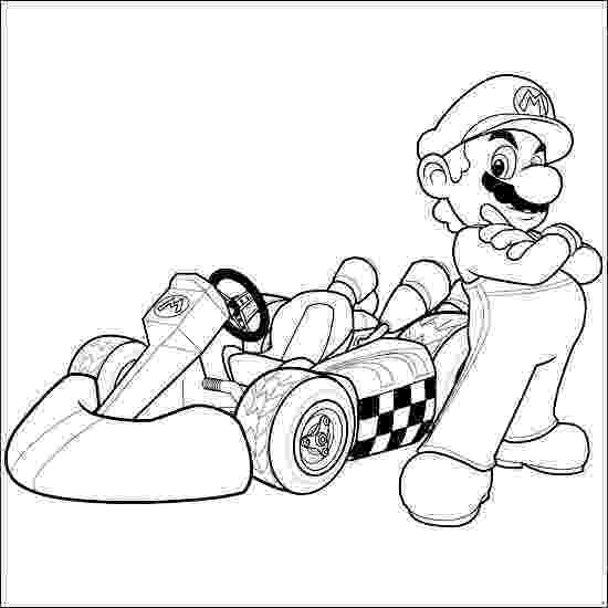 mario kart coloring pages coloring pages mario coloring pages free and printable kart coloring mario pages