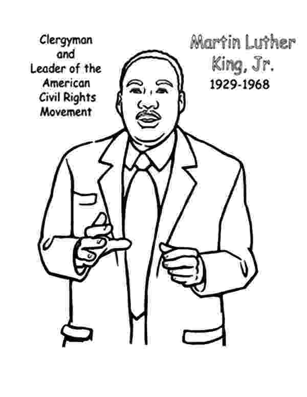 martin luther king coloring sheets free free printable martin luther king coloring pages at sheets luther martin king coloring free
