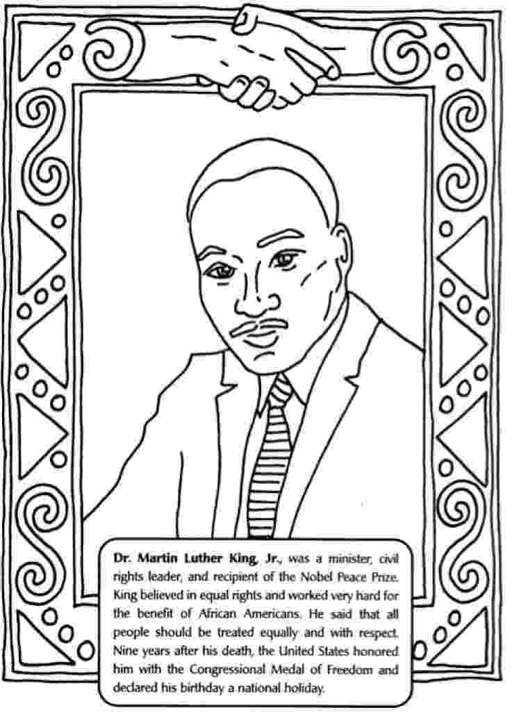 martin luther king coloring sheets free martin luther king jr coloring pages and worksheets best luther martin king free coloring sheets