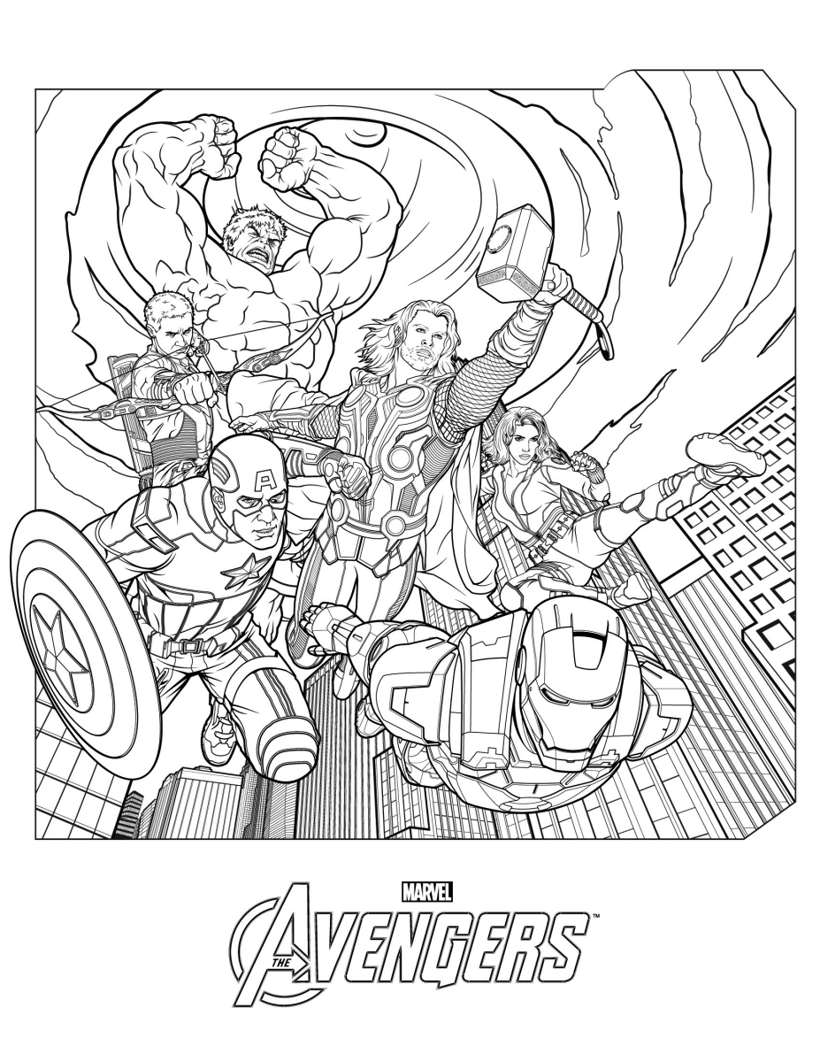 marvel avengers colouring pages coloriage thor the avengers httpwwwpapa blogueurcom marvel avengers colouring pages