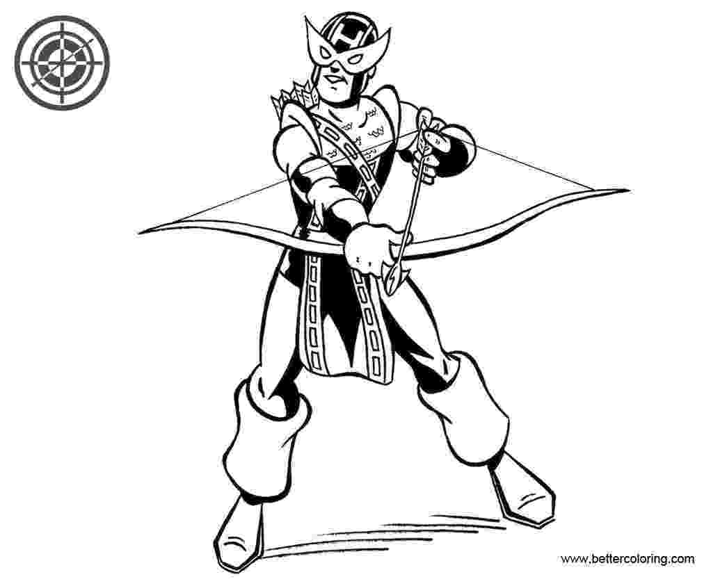 marvel hawkeye coloring pages free marvel coloring pages the avengers coloring pages pages hawkeye coloring marvel