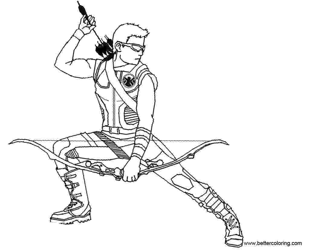 marvel hawkeye coloring pages hawkeye coloring pages from marvel comics free printable hawkeye coloring pages marvel