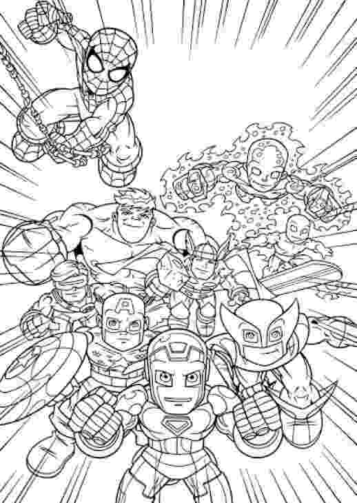 marvel super heroes coloring pages marvel super heroes 273 superheroes printable super coloring heroes marvel pages