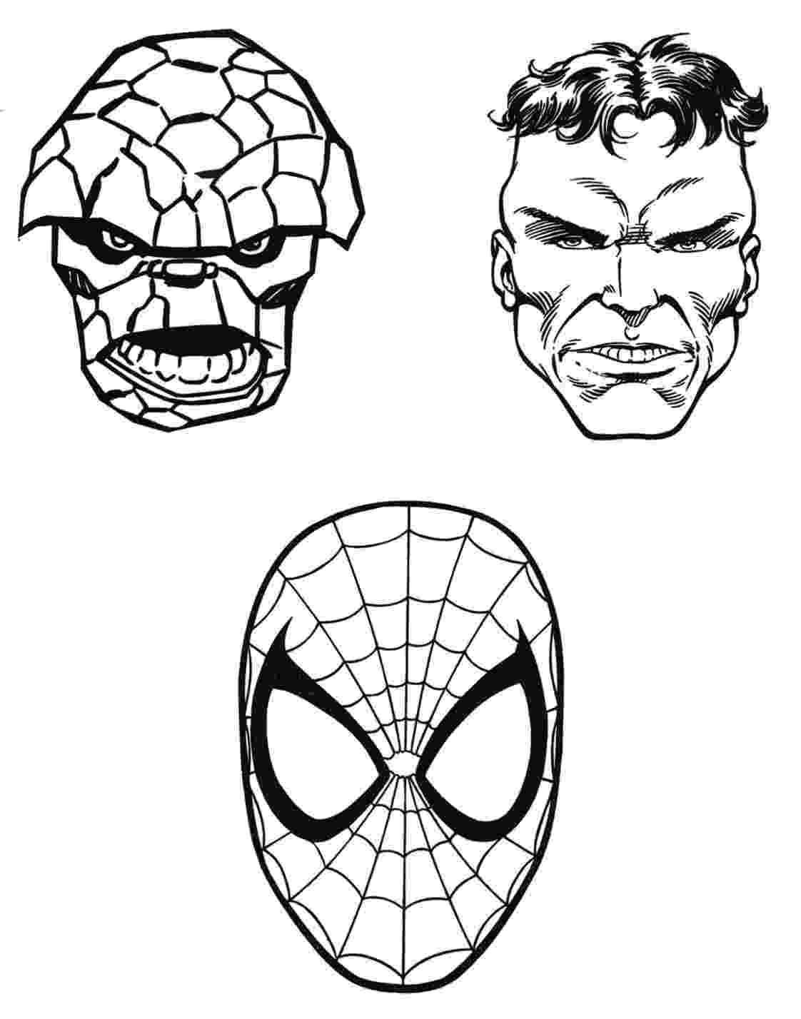 marvel super heroes coloring pages marvel superhero coloring pages getcoloringpagescom coloring pages super heroes marvel 1 1