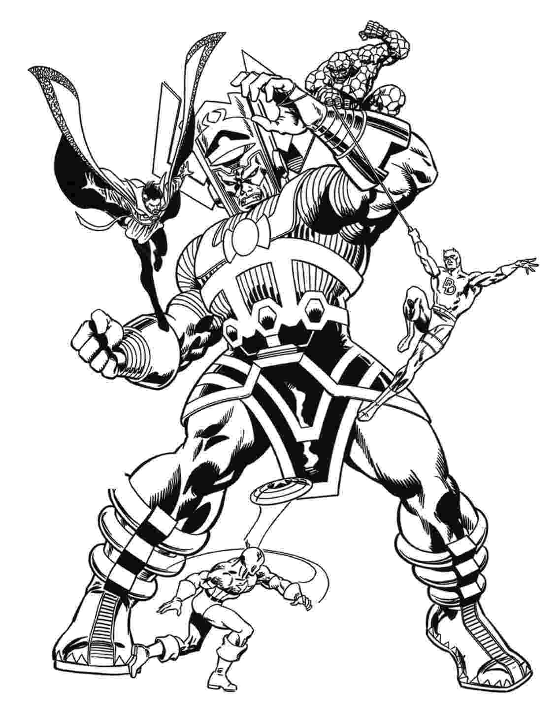 marvel super heroes coloring pages marvel superhero coloring pages getcoloringpagescom heroes coloring super pages marvel