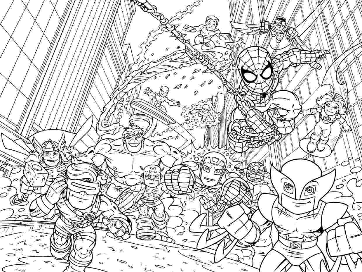 marvel super heroes coloring pages marvel superhero coloring pages getcoloringpagescom super coloring heroes marvel pages