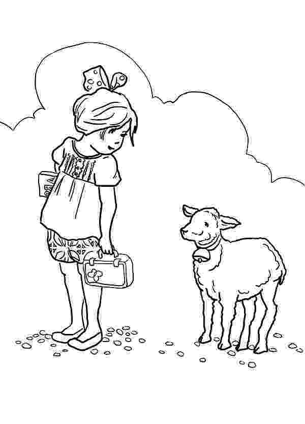 mary had a little lamb coloring page mary had a little lamb coloring page coloring home page little coloring lamb mary had a