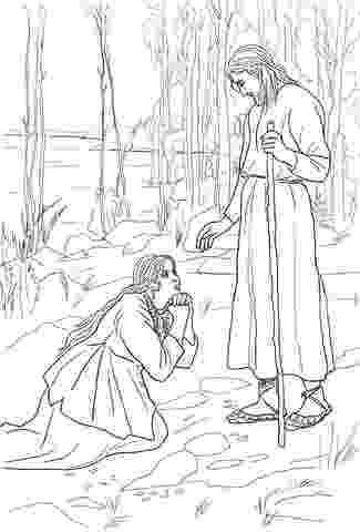 mary magdalene coloring page coloring page anointing the feet of jesus bible page mary magdalene coloring