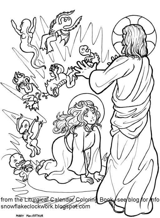 mary magdalene coloring page mary magdalene with coloring pages picture 18 550733 coloring page mary magdalene