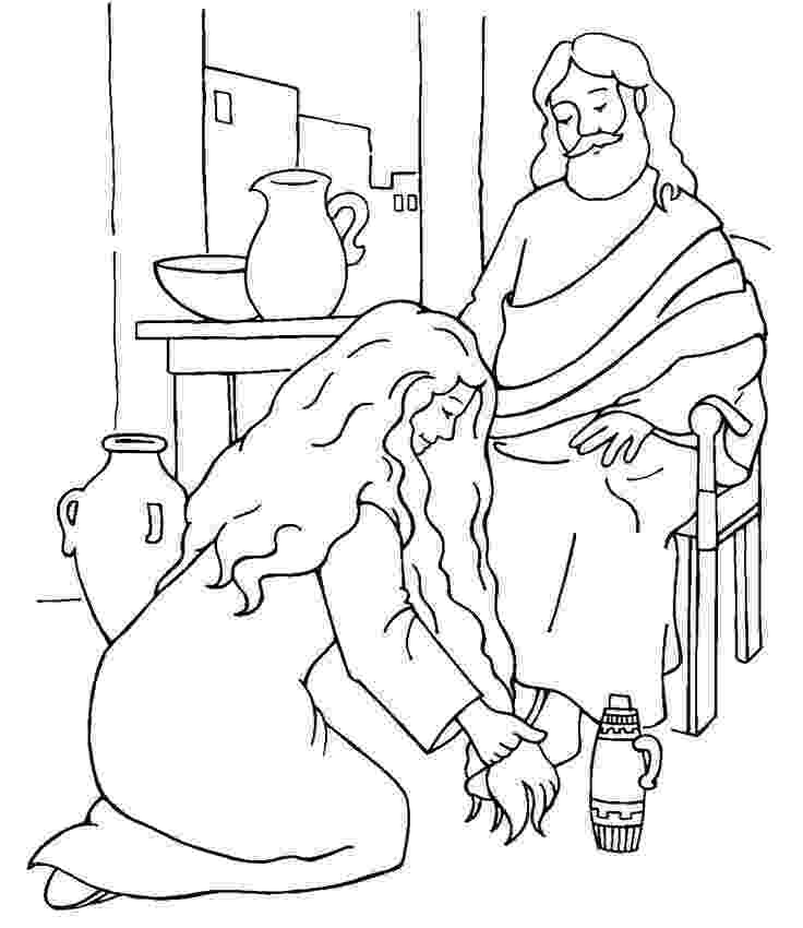 mary magdalene coloring page print and color in the scene from quothe is risen an easter page coloring magdalene mary
