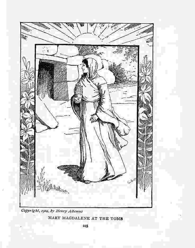 mary magdalene coloring page saint mary coloring page catholic saints coloring page mary magdalene coloring