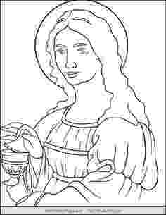 mary magdalene coloring page the empty tomb color the bible magdalene mary page coloring