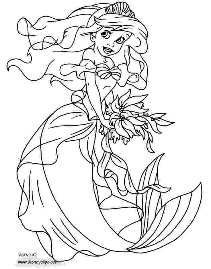 mermaid ariel coloring pages irislancery free printable coloring pages ariel 2015 mermaid pages ariel coloring