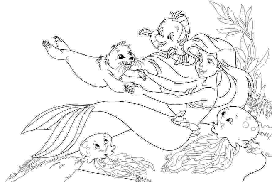 mermaid ariel coloring pages the little mermaid color page disney coloring pages big mermaid pages coloring ariel