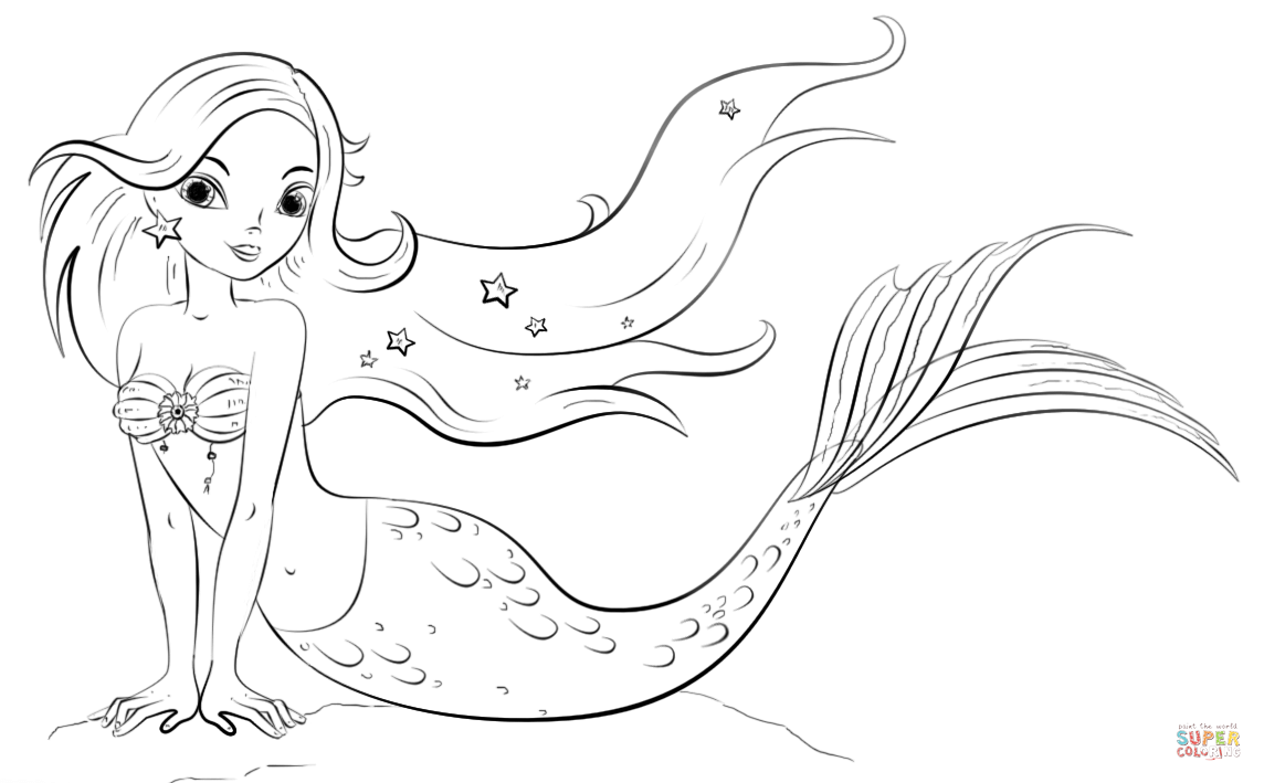 mermaid coloring page realistic mermaid coloring pages download and print for free coloring page mermaid