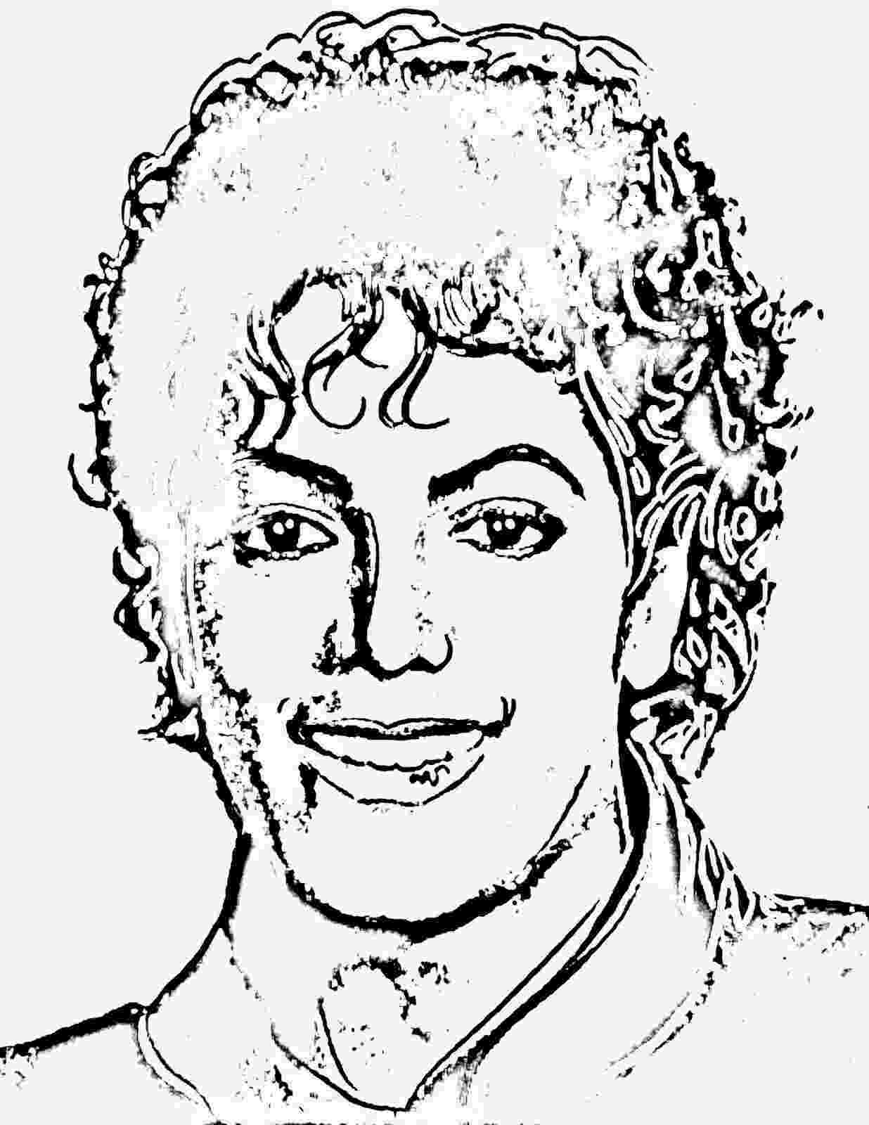 michael jackson colouring pages michael jackson drawing pictures at getdrawings free pages michael colouring jackson