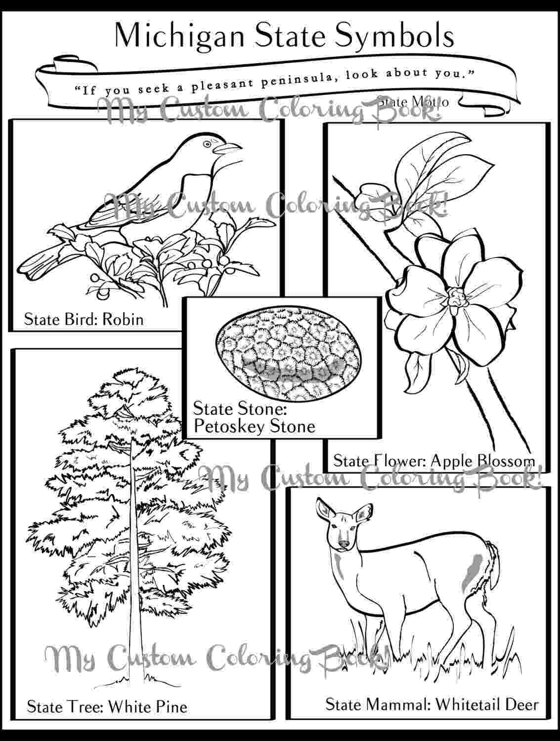 michigan coloring pages michigan crayolaca coloring michigan pages