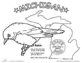michigan state bird 7 best images about michigan homeschooling sheets on michigan bird state
